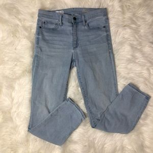 Gap Spring Indigo Resolution Slim Straight Jeans